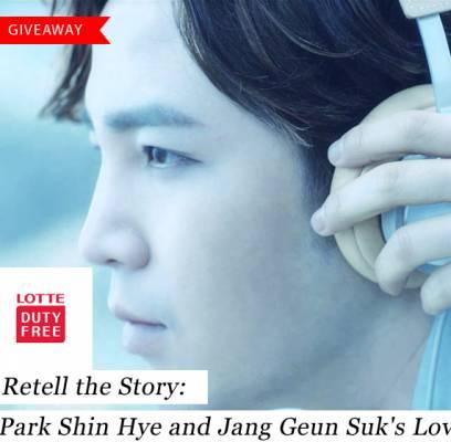 [Giveaway] Retell the story: Park Shin Hye and Jang Geun ...