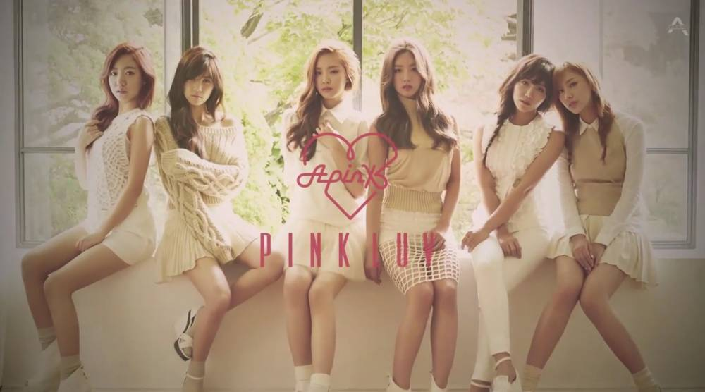 Listen to A Pink's full 'Pink LUV' album!