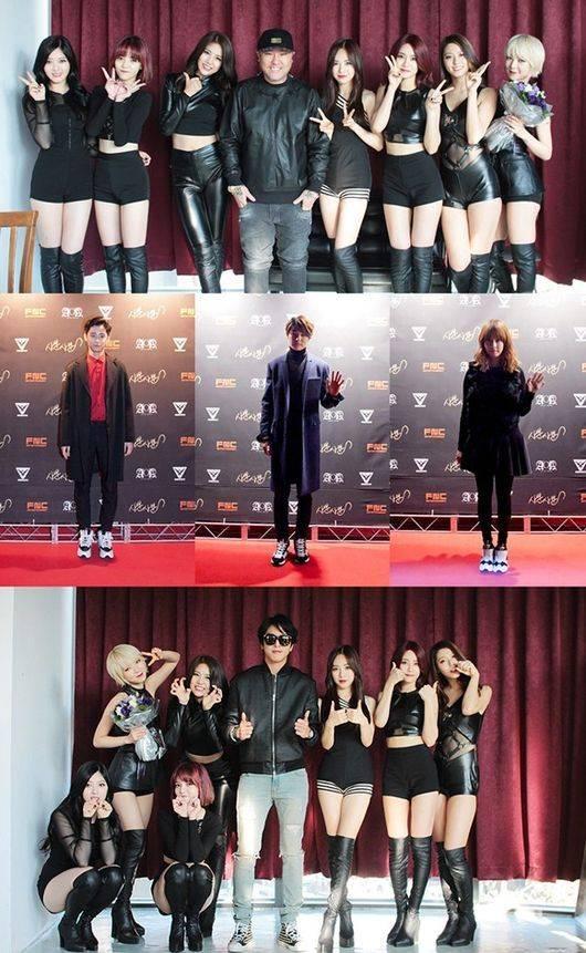 Lee Jae Jin, AOA, CNBLUE, Yonghwa, Minhyuk, Yoo Seung Woo, Brave Brothers