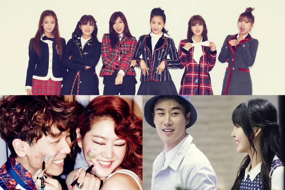 After School, Raina, A Pink, SISTAR, Soyu, San E, Junggigo