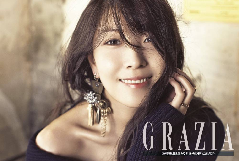 'Grazia' reveals more pictures of a mature and alluring BoA