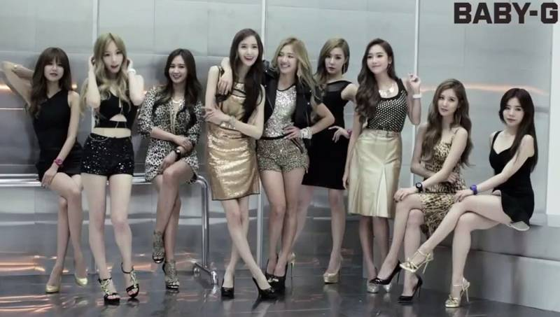 Casio Releases Winter Cf Starring Girls Generation For