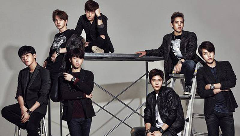 Infinite Exude Charisma In Black As They Model 39 Diesel 39 S 2014 F W Watch Collection