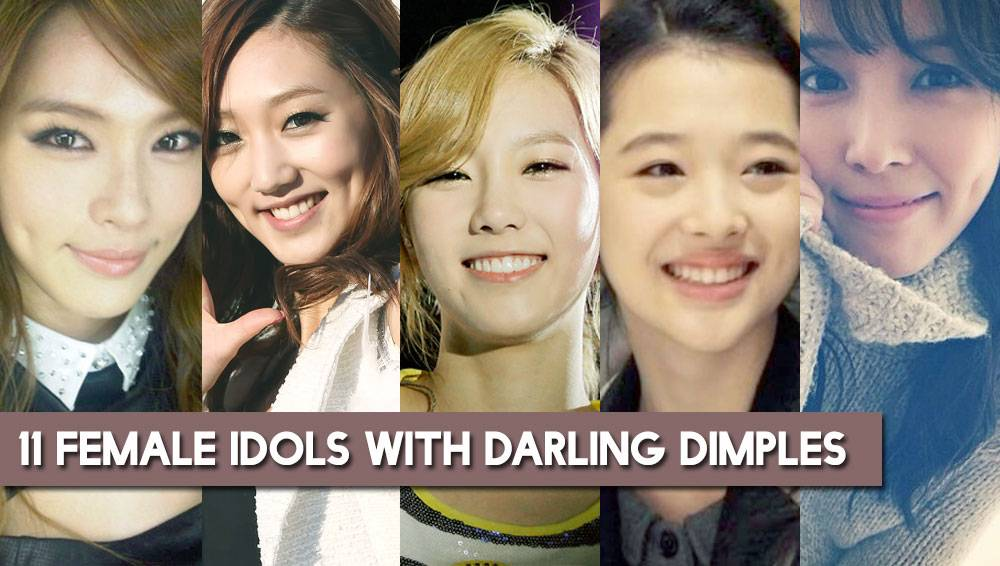 eye candy 11 female idols with darling dimples part one