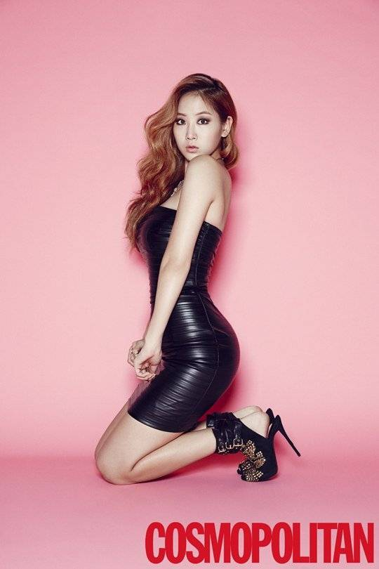 SISTAR's Soyu shows off her sexy figure with pictorial for 'Cosmopolitan' + BTS clip