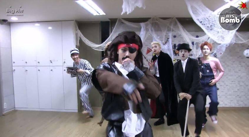 BTS continue the Halloween spirit in a second 'Hormone War