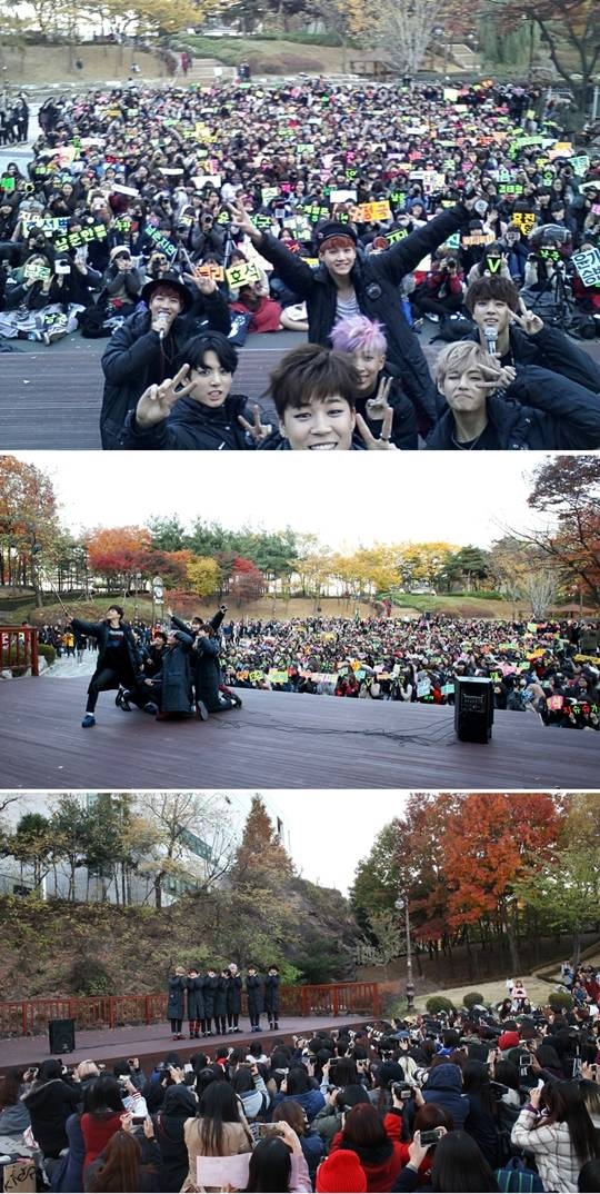 Bts Hold A Mini Fan Meeting Officially End Promotions