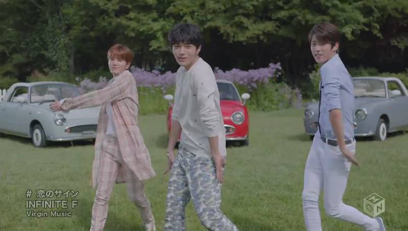 INFINITE F release full PV for 'My Heart is Beating' + making of video