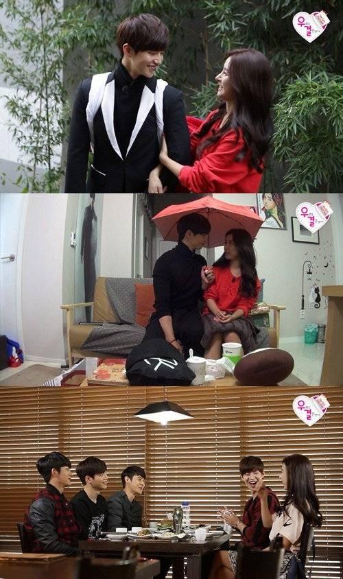 Song Jae Rim gets jealous over Kim So Eun and Seo Kang Jun in