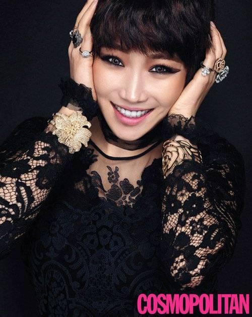 Actress Lee Yoo Ri transforms into a wickedly lovely girl for 'Cosmopolitan'