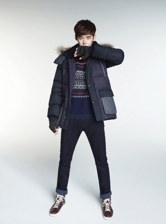 Lee Jong Suk And Kang Min Kyung Are Ready For Winter With