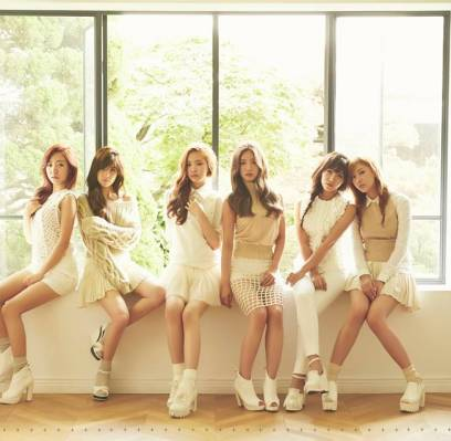 AOA,A-Pink,EXID,infinite-f,Nicole,Hyorin,Kyuhyun,hong-jin-young,dia,ulala-session,son-seung-yeon,mamamoo,park-soo-jin,halo,joo-young,lovelyz