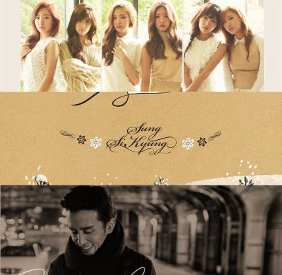 AOA,A-Pink,Taeyang,G-Dragon,EXID,Kyuhyun,yoo-hee-yeol,sung-si-kyung,park-hyo-shin,bobby,hi-suhyun