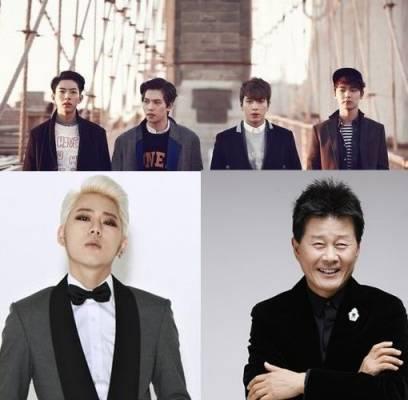 Block-B,Zico,CNBLUE,tae-jin-ah