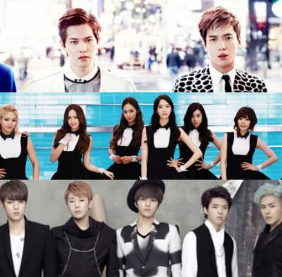 CNBLUE,INFINITE,Girls-Generation