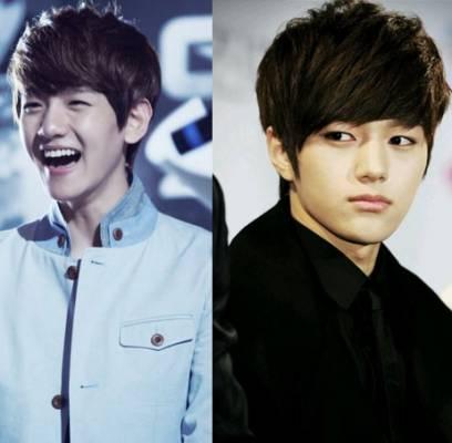 EXO,Baekhyun,Chanyeol,INFINITE,L