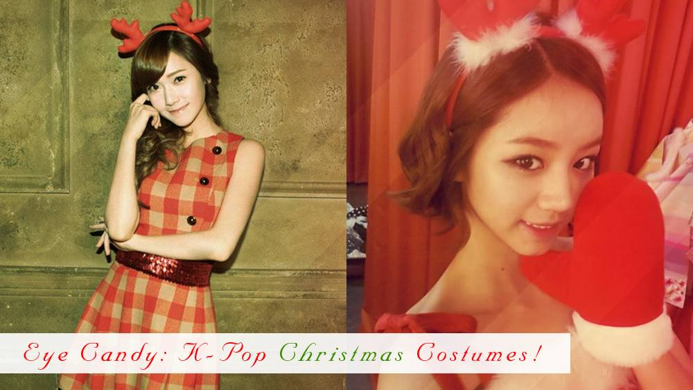 Eye Candy: K-Pop Christmas Costumes!