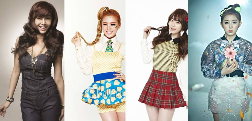 4minute, Sohyun, After School, Lizzy, Orange Caramel, KARA, Youngji, Jung Hyung Don, G.NA, Defconn