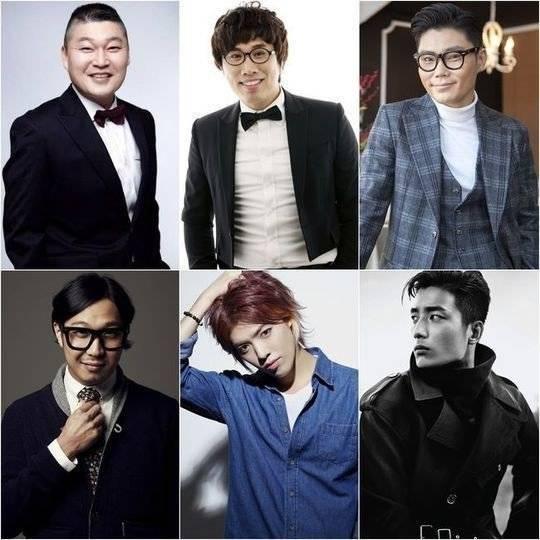 HaHa, M.I.B, Kangnam, Kang Ho Dong, Jung Tae Ho, Kim Bum Soo