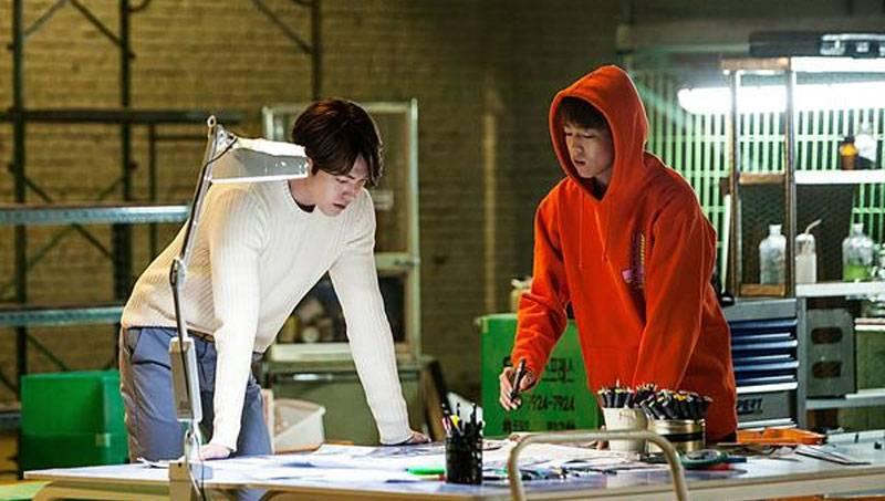 kim woo bin reveals his rapping skills lee hyun woo