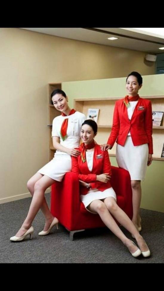 buzz feature  eye candy  cute korean stewardesses you u0026 39 d