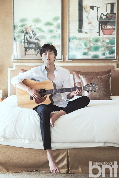 Jung Il Woo Goes To Bali For Pictorial With International