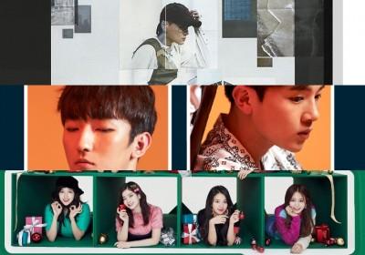 EXO,yoon-jong-shin,ziont,naul,punch,twice,dean,melomance,minseo