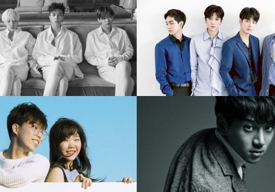 NUEST,nuest-w,akdong-musician,suhyun,winner,hyukoh,hwang-chi-yeol