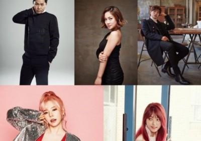 Girls-Generation,Sunny,eric-nam,park-na-rae,pristin
