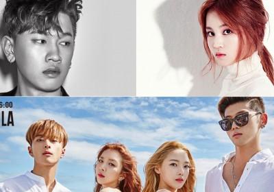 Lee-Hi,crush,hyukoh,kard