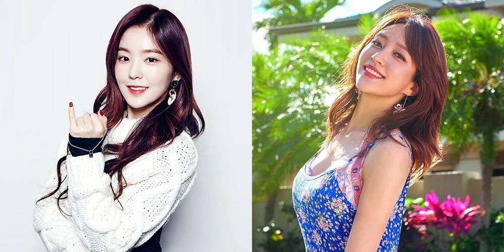 EXID, Hani, Red Velvet, Irene