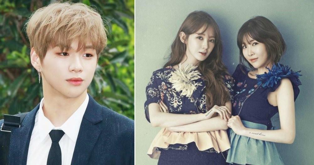 Davichi, Wanna One, Kang Daniel