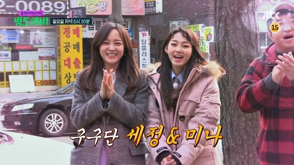 Mina, Kim Se Jung, Mina
