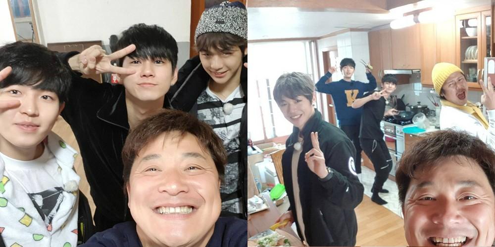 Kang Daniel, Ong Seong Wu, Kim Jae Hwan