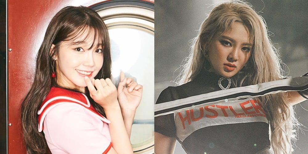 A Pink, Eunji, Eunji, Hyoyeon, Lee Yeon Hee, Solbi, Clara, Lee Tae Im
