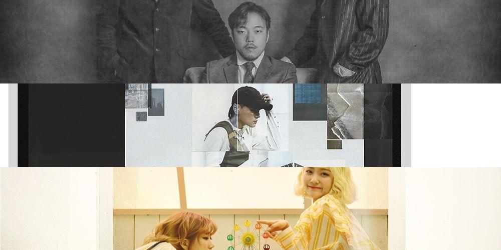 Naul, Park Hyo Shin, Kim Dong Ryul, Punch, TWICE, DEAN, Bolbbalgan4, Melomance