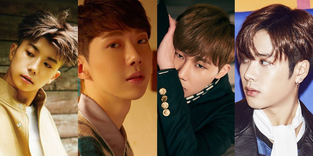 Jo Kwon, Wooyoung, Sunggyu, Jackson