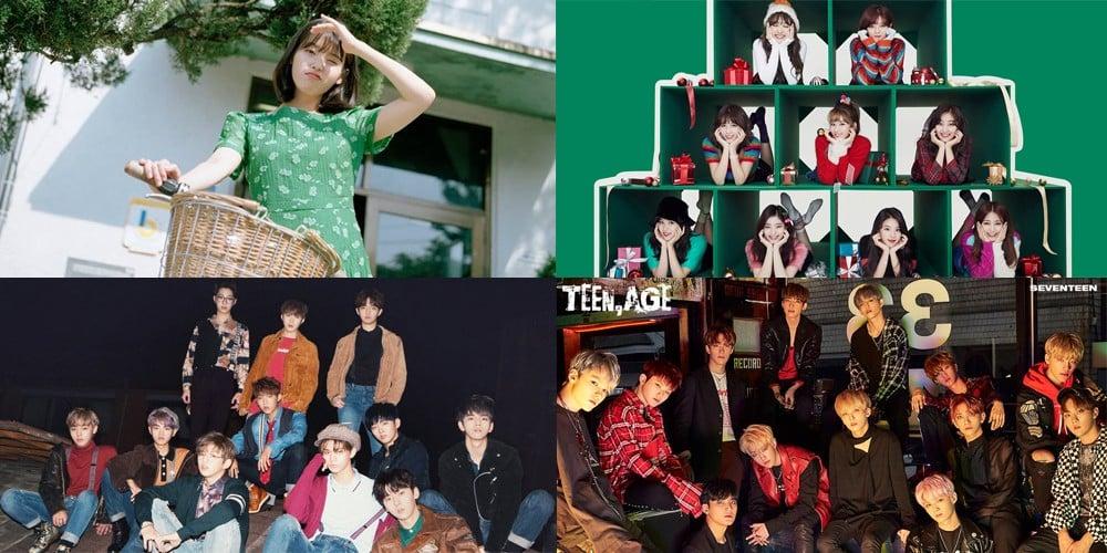 Sechskies,nuest-w,Leeteuk,IU,Seventeen,Epik-High,suhyun,sunmi,got7,twice,dahyun,heize,hwang-chi-yeol,wanna-one,changmo,melomance