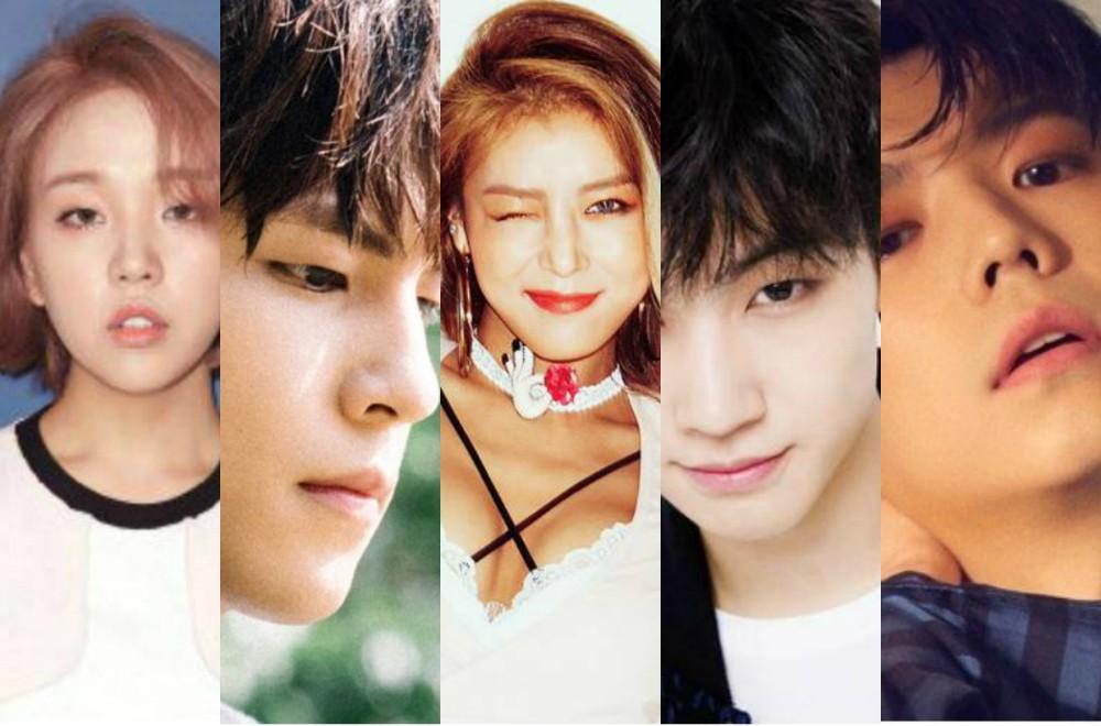 Wooyoung,Yubin,baek-ah-yeon,jb,wonpil