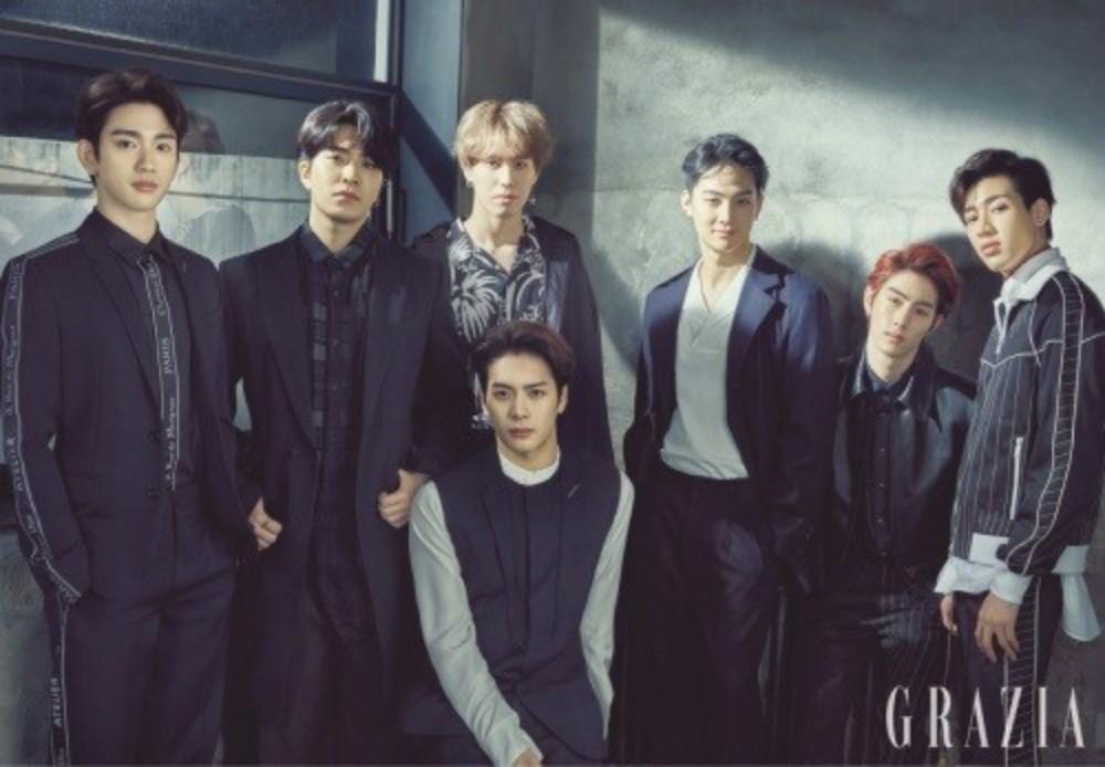 GOT7 Pose For The Cover Of 'Grazia'