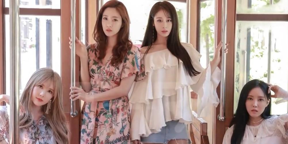Eunjung,T-ara,Hyomin,Eunjung,Qri,Jiyeon