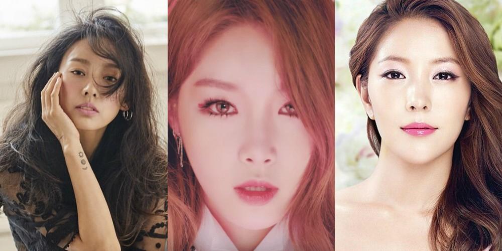 Lee Hyori, Boa, Kim Chung Ha
