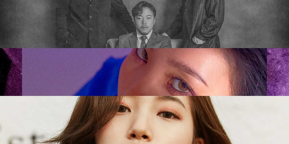 Suzy, Sunmi, iKON, Kim Dong Ryul, DEAN, Bolbbalgan4, Melomance