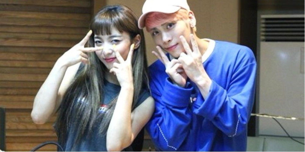 Jonghyun,Luna,Jonghyun
