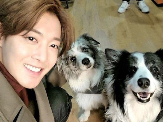 Kim Hyun Joong shows love for his pups on Instagram | allkpop