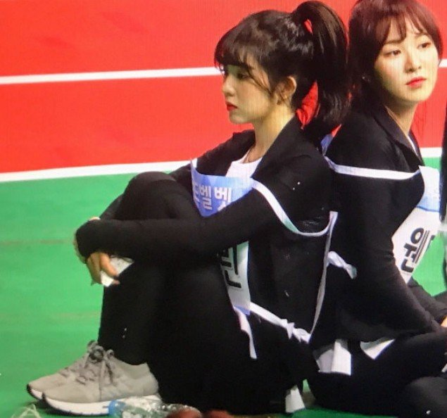 Red Velvet's Irene spotted shivering on the set of 'Idol Star