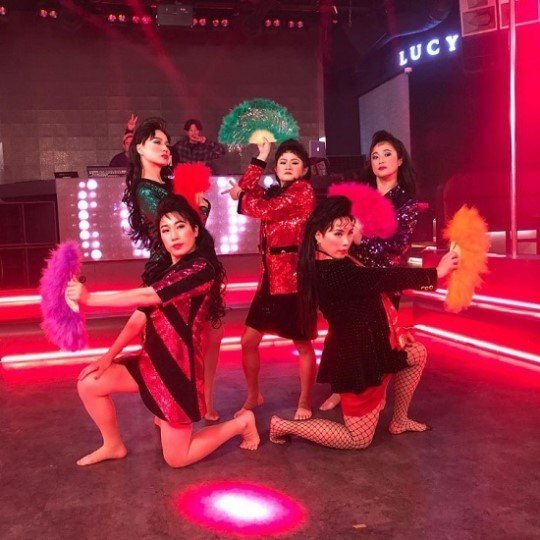 The Main Idea Concept And Style Of Celeb Five Originated From A Famous Japanese Dance Group Tdc