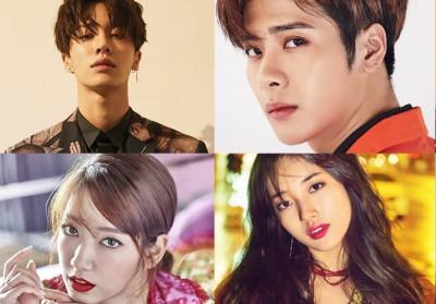 Sehun,Lay,Krystal,Suzy,Song-Ji-Hyo,park-shin-hye,lee-dong-wook,han-hyo-joo,jackson,kikwang