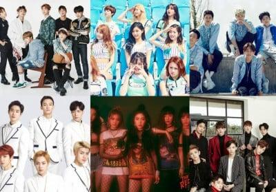 EXO,Seventeen,bts,red-velvet,ikon,twice