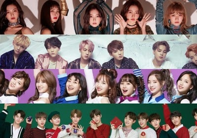 HyunA,AOA,B1A4,BAP,Big-Bang,BTOB,EXID,EXO,Suzy,NUEST,SHINee,Taeyeon,Super-Junior,VIXX,IU,Seventeen,bts,winner,red-velvet,g-friend,monsta-x,oh-my-girl,twice,astro,black-pink,wanna-one,jbj